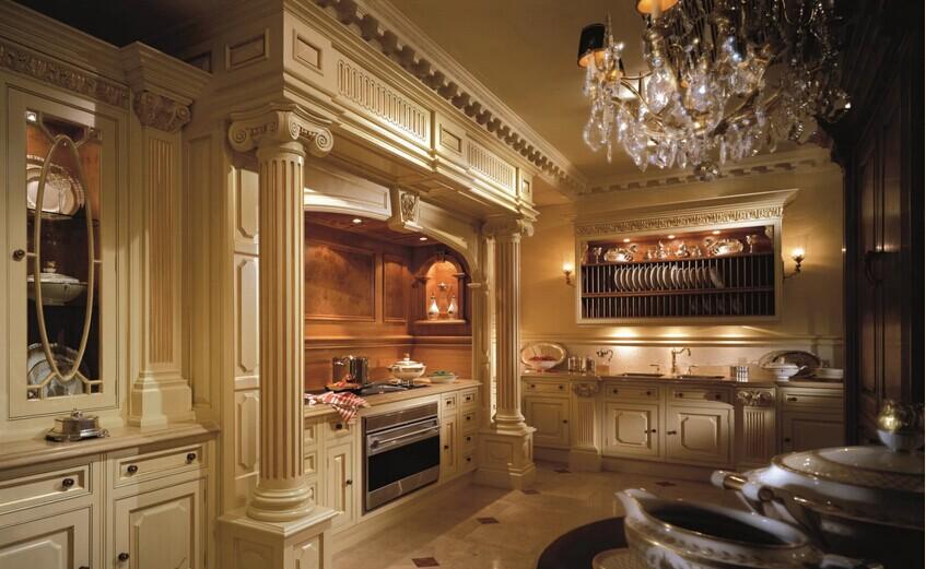欧式厨房1